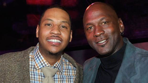 Carmelo Anthony Reveals How Michael Jordan Helped Him Become A Better Scorer