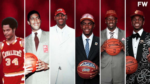 The Cavaliers Have Had The Most No. 1 Overall Draft Picks: LeBron James, Kyrie Irving Lead Incredible List