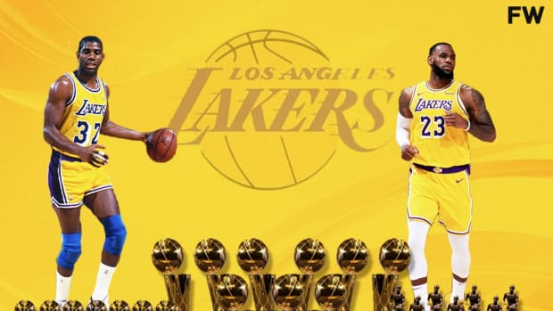 """Magic Johnson Heralds His And LeBron James' Combined Legacy: """"Together We Have 19 NBA Finals Appearances, 9 NBA Championships, 7 League MVPs, And 7 Finals MVP"""""""