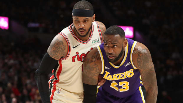 """Carmelo Anthony On Joining The Lakers: """"I Almost Got Forced To Do It."""""""