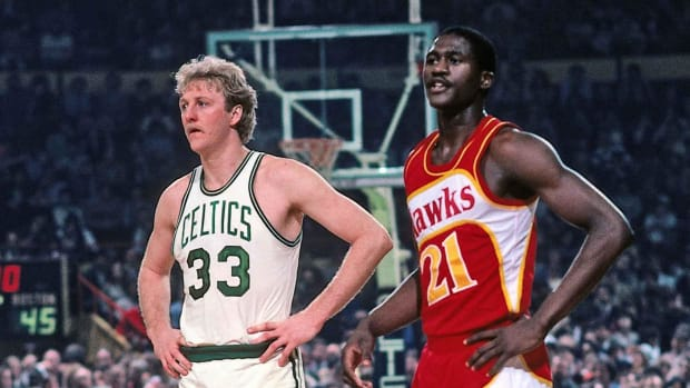 """Dominique Wilkins Talks About Playing Against Larry Bird: """"Did This Son Of A B**** Just Called Me Holmes?"""""""
