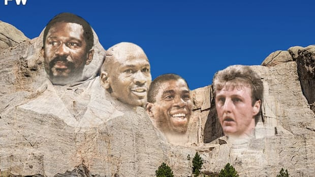 NBA Commissioner Adam Silver Revealed Who Is On His Mount Rushmore In 2015: Bill Russell, Michael Jordan, Magic Johnson, And Larry Bird