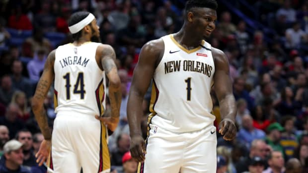 Zion Williamson Is 100 Pounds Heavier Than Brandon Ingram Despite Being Almost The Same Height