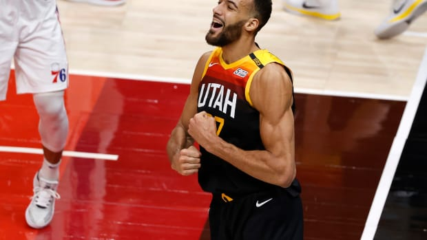 """Rudy Gobert Isn't Worried About 'Random' Drug Testing After Posting A Picture Looking Shredded: """"I'm All Natural"""""""