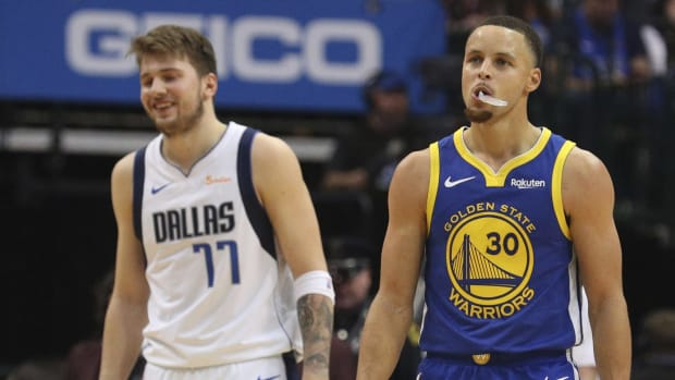 NBA Fans React To Luka Doncic Being Ranked Over Stephen Curry In ESPN Ranking