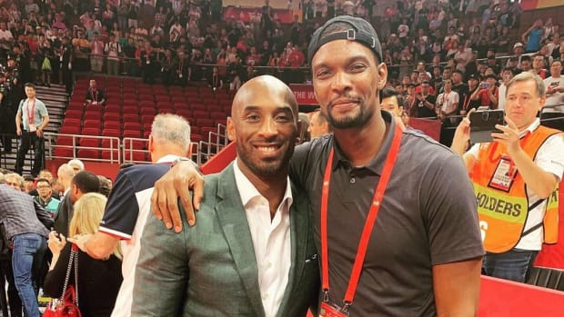 """Chris Bosh On Kobe Bryant: """"Legends Aren't Defined By Their Successes, They're Defined By How They Bounce Back From Their Failures"""""""