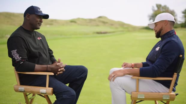 """Michael Jordan Tells Stephen Curry The Importance Of Golf In His Life: """"For A Competitive Person, This Game Keeps Me Sane."""""""
