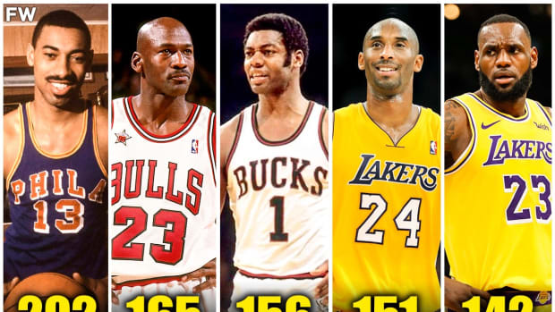 NBA Players With The Most Losses While Scoring 30+ Points In NBA History
