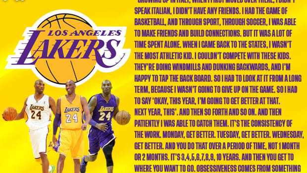 """Kobe Bryant Shares Motivational Story About His Childhood Struggles: """"I Grew Up In Italy With No Friends."""""""
