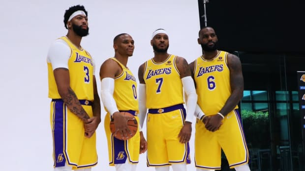 lakers old roster