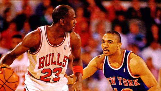 """Mark Jackson Made A Mistake Sticking His Tongue Out After Stealing The Ball From Michael Jordan: """"He Takes All Of That And Uses It As Fuel"""""""