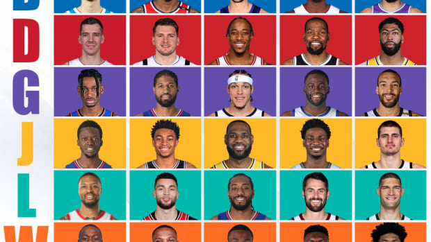 NBA All-Alphabet Team: Teams L And D Are Unstoppable