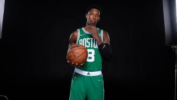 Josh Richardson in Celtics uniform