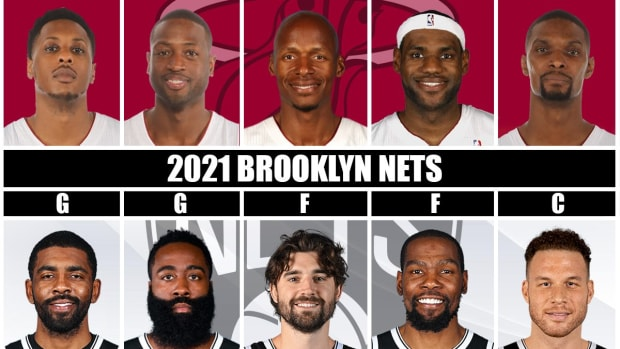 2013 Miami Heat vs. 2021 Brooklyn Nets: Which Superteam Comes Out On Top In A 7-Game Series?