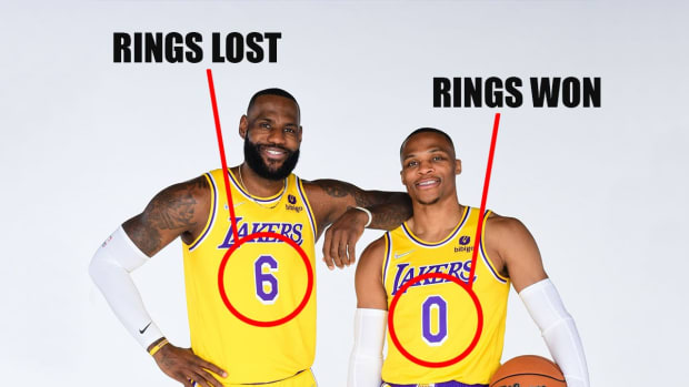 """NBA Memes Trolls LeBron And Westbrook For Their Jersey Numbers: """"6 Rings Lost, 0 Rings Won"""""""
