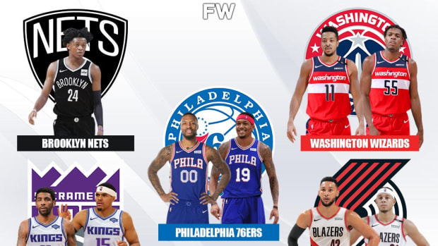 A Crazy Mega '5- Team' Deal: Damian Lillard And Bradley Beal To Sixers, De'Aaron Fox To Nets, Ben Simmons To Trail Blazers