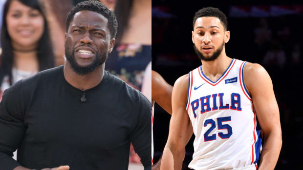"""Hollywood Star Kevin Hart Criticizes Media, Fans For Ben Simmons Saga: """"Wasn't He An All-Star? Wasn't He All-Defensive Team?"""""""