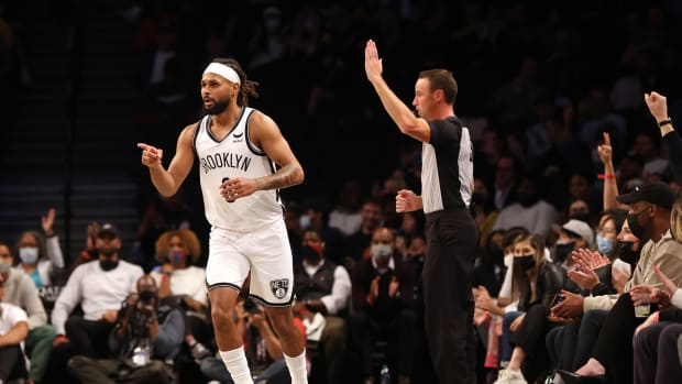 """Patty Mills On Potentially Replacing Kyrie Irving: """"My Role's Gonna Be The Same No Matter What Happens In The Future"""""""