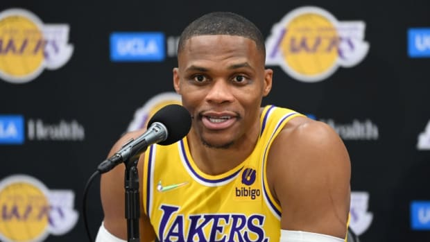 """Russell Westbrook Hilariously Responds To Questions About His Turnovers In Preseason Games: """"The Turnover Stuff Is On Me, But Good Thing It Don't Count."""""""