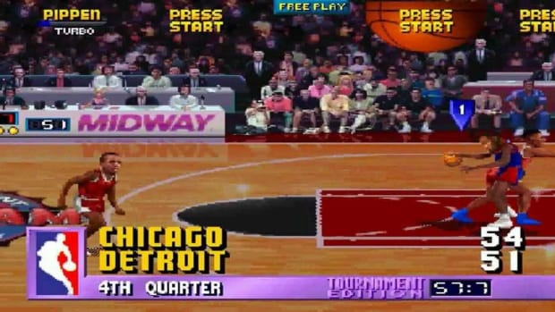 NBA Jam Creator Admits He Put Cheatcode In Game That Didn't Allow Michael Jordan And Chicago Bulls To Make A Last-Second Shot Against Detroit Pistons