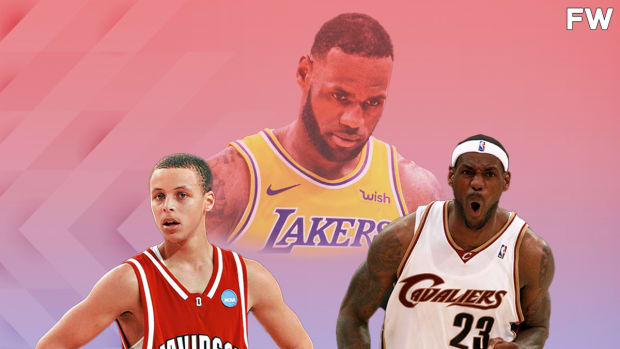 """Stephen Curry On LeBron James' 19th Season: """"I Still Remember My College Days And He Was Just Coming Into His Prime In The League. I Still Have A Jersey That He Signed Back In '08 In My Parents' House Back In Charlotte."""""""