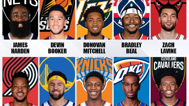 Top 10 NBA Shooting Guards For The 2021-2022 Season