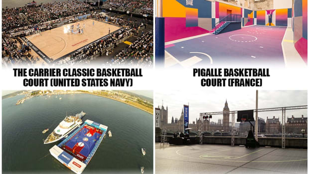 The 20 Most Interesting Basketball Courts In The World: FIBA Court Lets You Ball Next To The Ocean