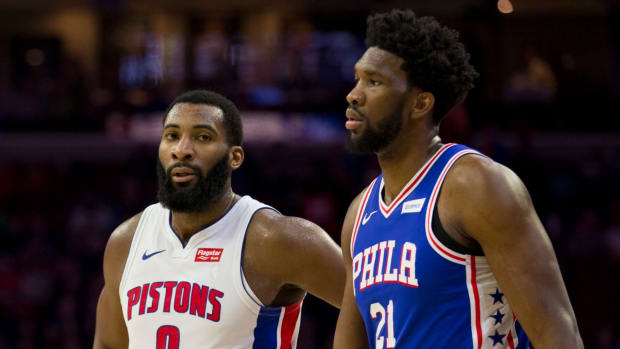 """Joel Embiid On His Partnership With Andre Drummond: """"I Always Kicked His Butt."""""""