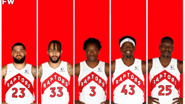 The Toronto Raptors Potential Starting Lineup: A Promising Team That Won't Make The Playoffs