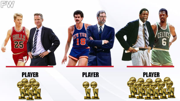 NBA Coaches Who Won Championships As Players: Bill Russell And Phil Jackson Are The Ultimate Winners