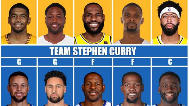 Team LeBron James vs. Team Stephen Curry: Who Wins A Legendary Best-Of-7?