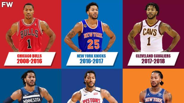 Breaking Down Derrick Rose's Career: Youngest MVP Ever, Biggest Comeback In NBA History