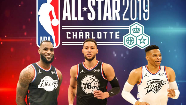 LeBron James Traded Russell Westbrook For Ben Simmons In The 2019 All-Star Draft