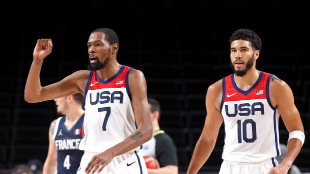 """Jerami Grant Thinks Jayson Tatum Will Benefit From Olympics Experience: """"Being Under KD, He Pushed The Confidence Out Of Him To Be On That Stage And Do What He Was Doing."""""""