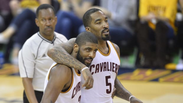 """J.R. Smith On The Hot Seat After Showing Support For Kyrie Irving: """"Extremely Proud Of You Bro!"""""""