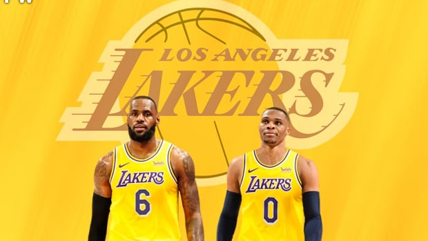 """LeBron James Explains Russell Westbrook's Role On The Lakers: """"It's Just Constant Pressure That We're Going To Put On Defense. Ultimately Tt's Going To Help AD."""""""