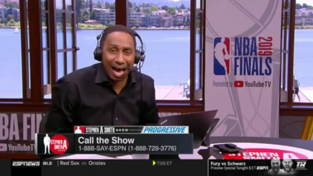 """Stephen A. Smith Responds To 'High' Listener On Live Show: """"Because You High, Goodbye!!!"""""""