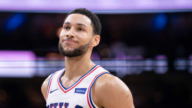 """Stephen A. Smith Reacts To Ben Simmons Getting Kicked Out Of 76ers Practice: """"He's Willing To Sabotage Anything And Everything That Gets In His Way."""""""
