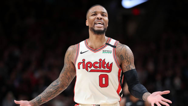Shams Charania Says The Portland Trail Blazers Could Lose Damian Lillard This Season If They Don't Play Well