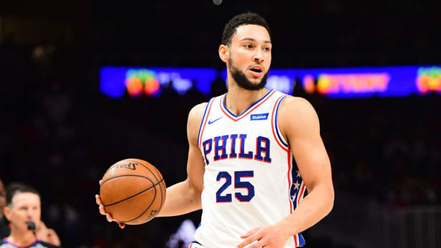 Ben Simmons Reportedly Told The 76ers He Needed To Start Over In A New Place Where He 'Could Make Mistakes'.