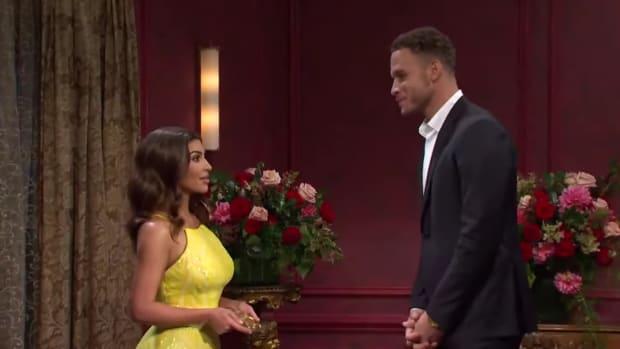 """Blake Griffin Takes Kim Kardashian's Token Of Love During SNL Skit: """"I'll Work On That"""""""
