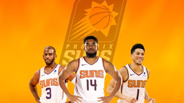 NBA Rumors: Phoenix Suns Could Land Karl-Anthony Towns For Deandre Ayton Jae Crowder, Dario Saric, And 2024 First-Round Pick