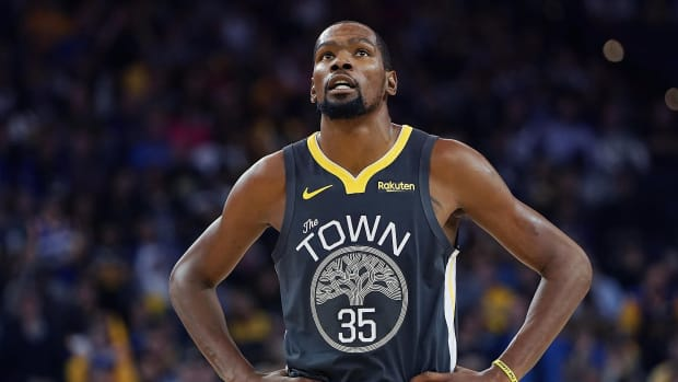 """Kendrick Perkins Says Kevin Durant Joining The Warriors Excludes Him From His All-Time Top 10 Players List: """"He Chose That But This Is Always Going To Be On KD."""""""