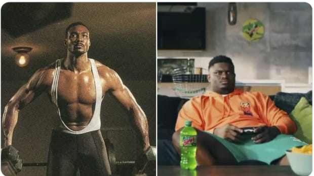 NBA Fans Compare MJ's Competition vs. LeBron's Competition: Strong And Fit Karl Malone vs. Fat Zion Williamson