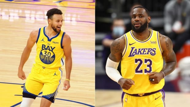 """Steph Curry On Being Born Ιn Τhe Same Hospital Room As LeBron James: """"Maybe The Same Floor. The Same Nurse. I Don't Know."""""""