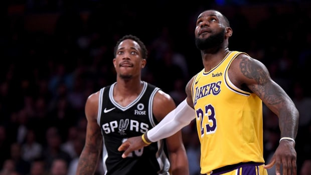 """DeMar DeRozan On Joining LeBron James In L.A.: """"I Did Try To Make It Happen."""""""