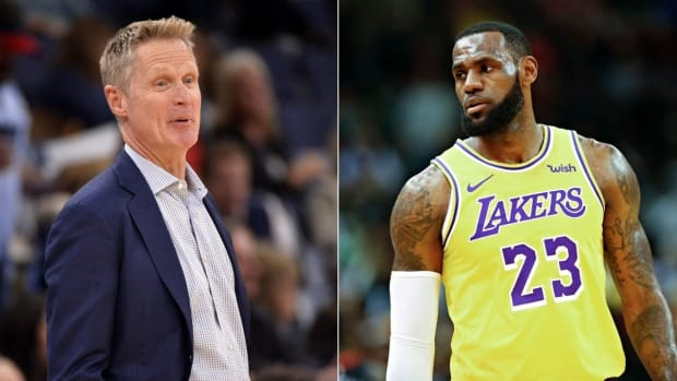 """Steve Kerr On Lakers Going 0-6 In Preseason: """"I Suspect They've Been Playing Possum."""""""