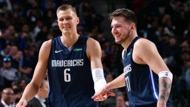 Luka Doncic Calls Out The Media For False Reports On His Relationship With Kristaps Porzingis