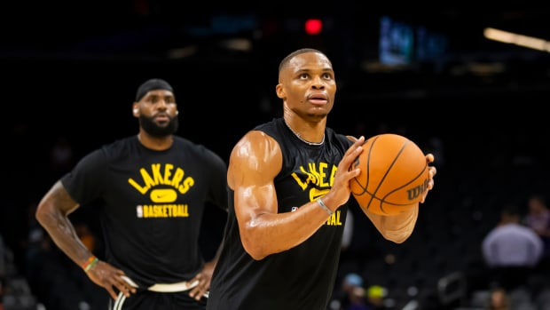 """Shaquille O'Neal Says Russell Westbrook Is A Role Player: """"A Damned Good One, But He's A Role Player..."""""""