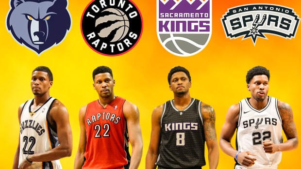 Despite 15 Years And 5 Teams, Rudy Gay Has Never Made It Out Of The First Round